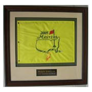 Autographed Framed Pin Flags