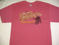 Adult Groundhog Vintage T-Shirt 2x,3x
