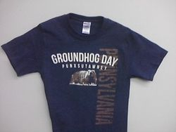 Adult Heather Groundhog Tshirt Sku# 1298-small Sku#1299-medium Sku# 1300-large Sku#1301-xlarge