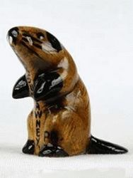 Ceramic Groundhog Statue - Small Sku# 313
