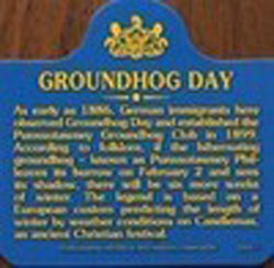 Groundhog Day History Magnet Sku# 264