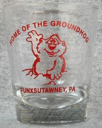 Groundhog Day Standard Shot Glass