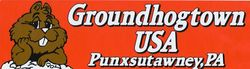 Groundhog Town Bumper Sticker Sku# 1061
