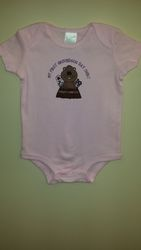 Infant Girls 1st Ghog onesie