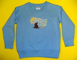 Infant Happy Groundhog Day Sweatshirt Sku # 710- 6 mos Sku# 711- 12mos Sku# 712- 18 mos