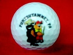Punxsutawney Phil Golf Ball Sku # 405