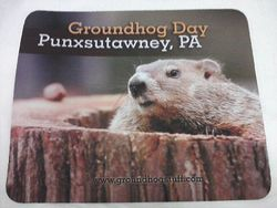 Punxsutawney Phil Mousepad Sku# 410