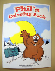 Punxsutawney Phil's Coloring Book Sku# 385