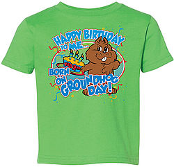 Toddler I Was Born on GHD T-Shirt Sku#606-2T Sku#607-3T Sku#608-4T Sku#609-5/6