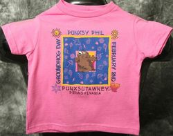 Toddler Square Phil T-Shirt-Hot Pink Sku#798-2T Sku#799-3T Sku#800-4T Sku#801-5/6