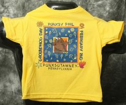 Toddler Square Phil T-Shirt-Yellow