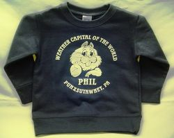 Toddler Weather Capital of the World Sweatshirt Sku#573- 2T Sku#868-3T Sku#574- 4T Sku# 575- 5/6