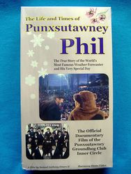 VHS Life and Times of Punxsutawney Phil Sku#231