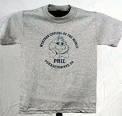 Youth Weather Capital of the World T-Shirt Sku#588-small 6-8 Sku#589-medium 10-12 Sku#590-large 14-16