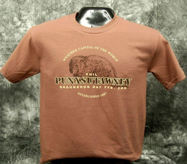 Adult Real Phil T-Shirt-Chestnut 2x,3x