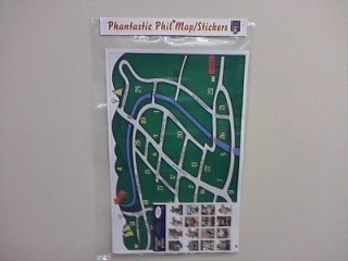 Phantastic Phil Map/Stickers