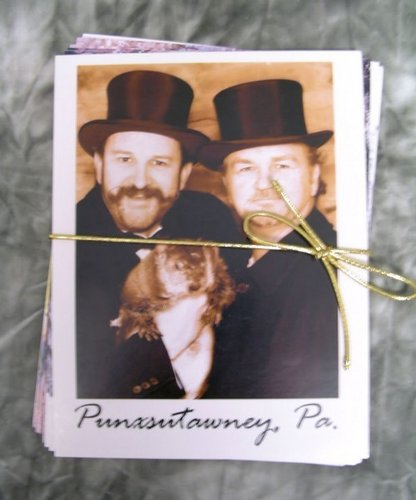 Postcards - Punxsutawney Phil (10 pack)