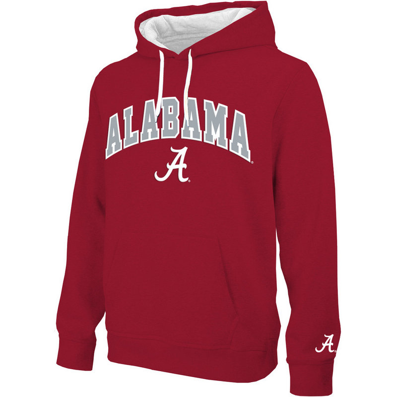Alabama Crimson Tide Hooded Sweatshirt Arch ALA28354