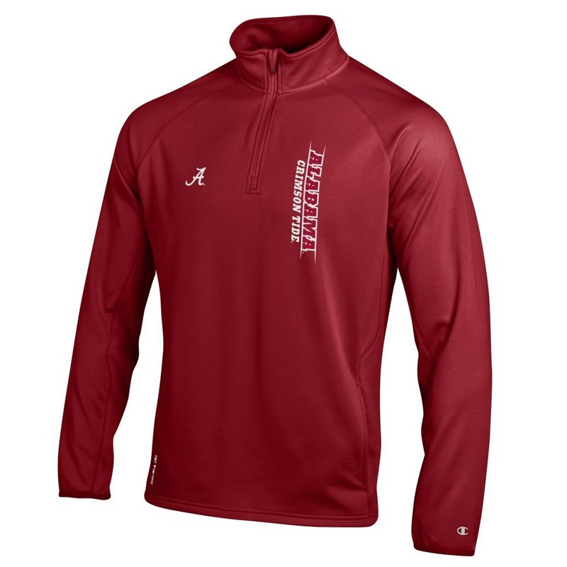 Alabama Crimson Tide Quarter Zip Sweatshirt APC02788524