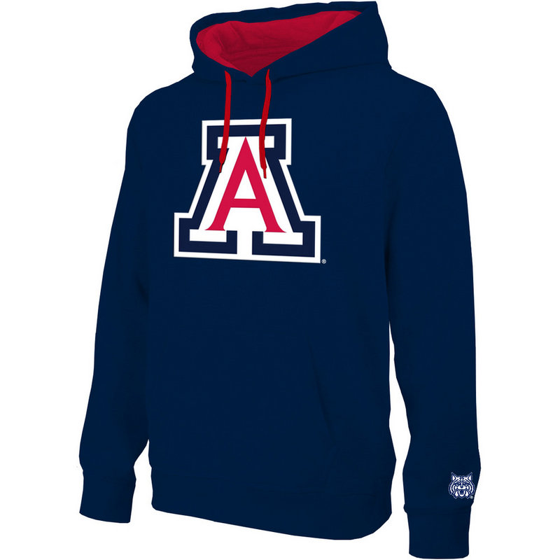 Arizona Wildcats Hooded Sweatshirt Navy ARZ28417