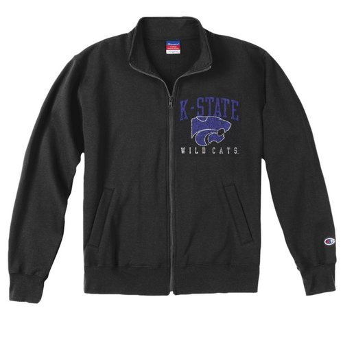 Champion K State Wildcats Mens Team Track Jacket (Champion)