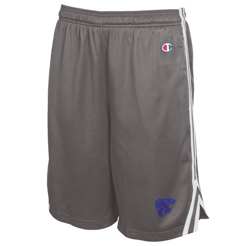 Champion Kansas State Wildcats Mens Lacrosse Shorts Charcoal (Champion)