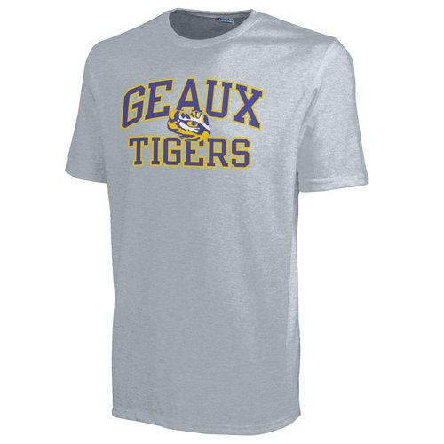 Champion LSU Geaux Tigers Mens TShirt 4725241-APC02443103 (Champion)