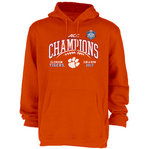 Clemson Tigers ACC Champs Hooded Sweatshirt 2017 Orange GILT ACC17 FOOT CHAMP-CLM