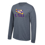 LSU Tigers Long Sleeve Shirt Charcoal
