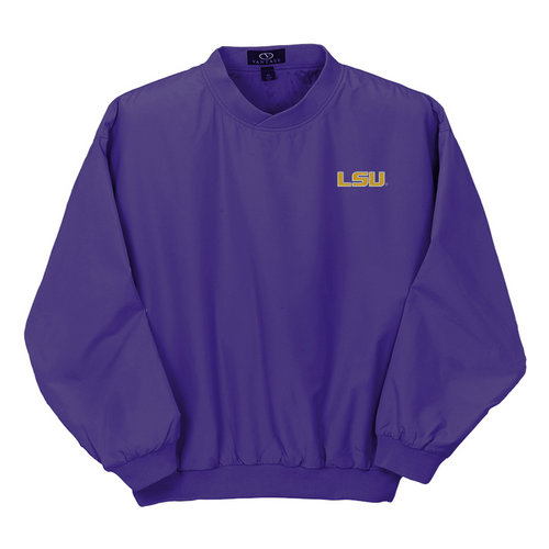 LSU Tigers Mens Microfiber Windshirt