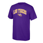 LSU Tigers TShirt Arch Over Eye Purple P0004969