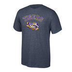LSU Tigers TShirt Heather Gray #525-LSU-DHR