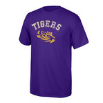 LSU Tigers TShirt Purple #525-LSU-PUR