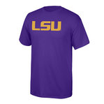 LSU Tigers Tshirt Purple Icon