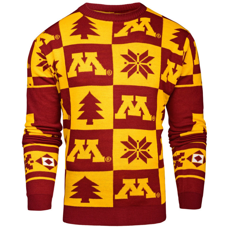 Minnesota Golden Gophers Ugly Christmas Sweater SWTCNNC16PATMN