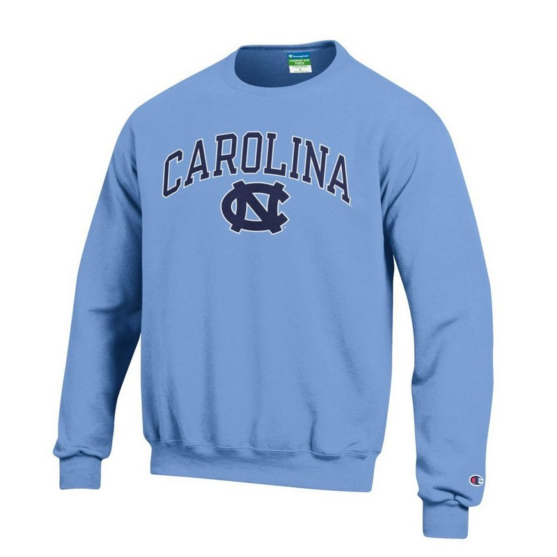 North Carolina Tar Heels Crewneck Sweatshirt Blue APC02879935