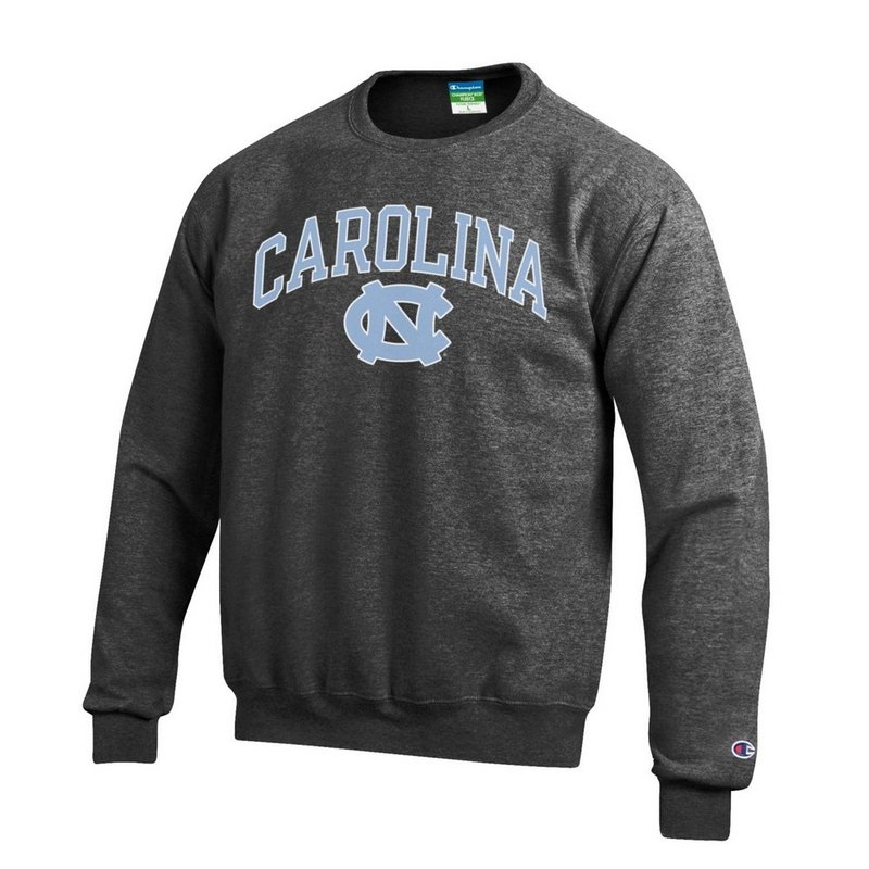 North Carolina Tar Heels Crewneck Sweatshirt Charcoal APC02879935