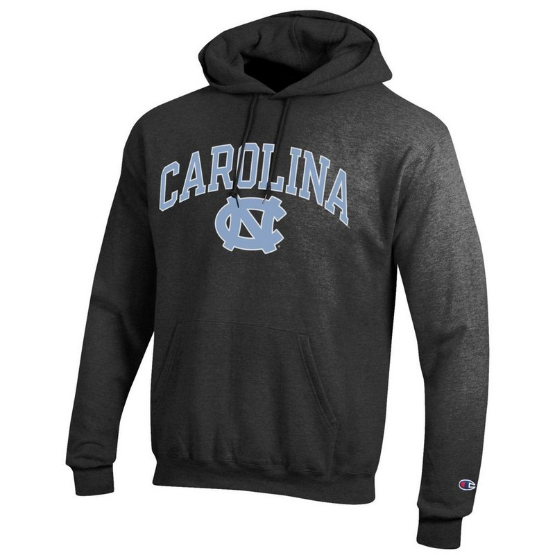 North Carolina Tar Heels Hooded Sweatshirt Charcoal APC02879935
