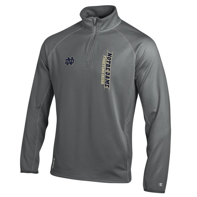 Notre Dame Fighting Irish Quarter Zip Sweatshirt APC02788500