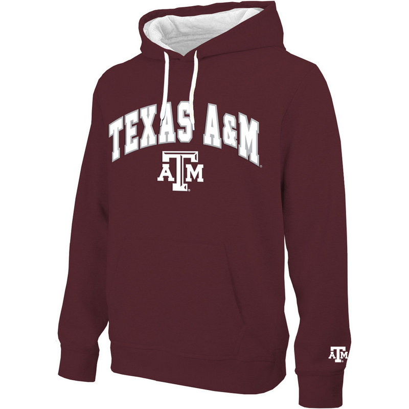 Texas A&M Aggies Hooded Sweatshirt Arch Maroon TAM28354