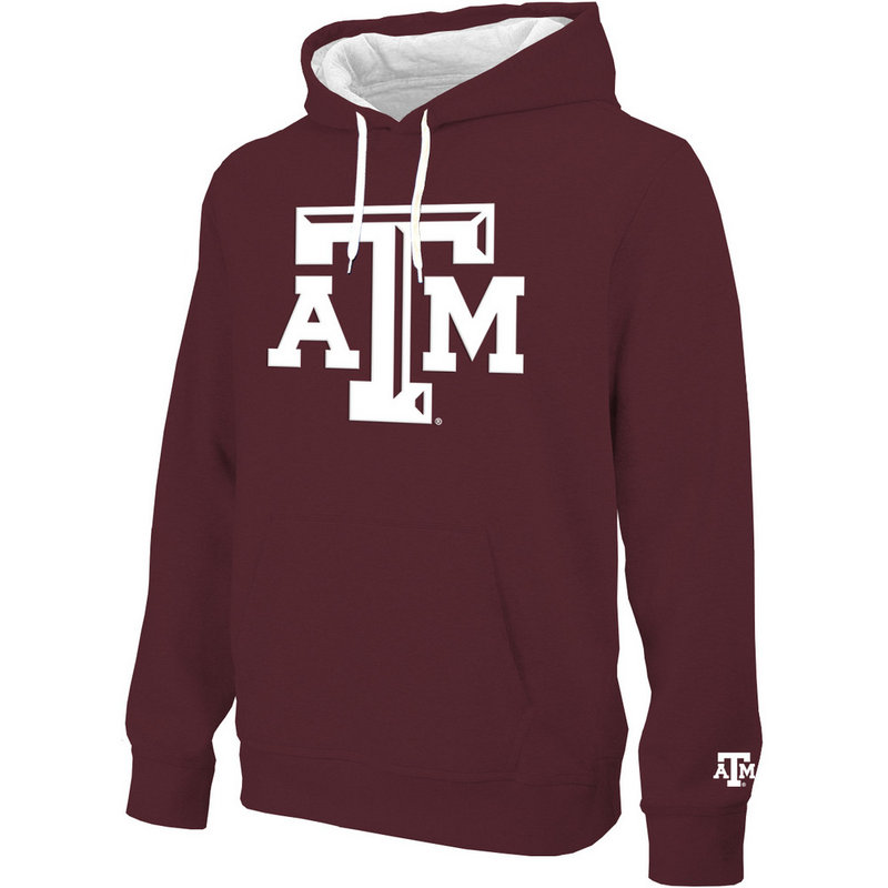Texas A&M Aggies Hooded Sweatshirt Maroon Icon TAM28417