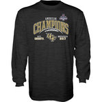 UCF Knights American Champs Long Sleeve Tshirt 2017 Charcoal GILT AAC17 FOOT CHAMP-CFL