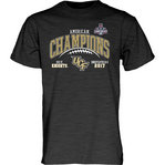 UCF Knights American Champs Tshirt 2017 Charcoal GILT AAC17 FOOT CHAMP-CFL