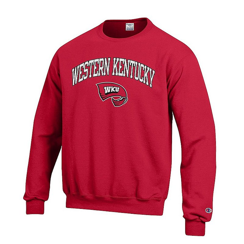 Western Kentucky Hilltoppers Crewneck Sweatshirt Red APC03001090