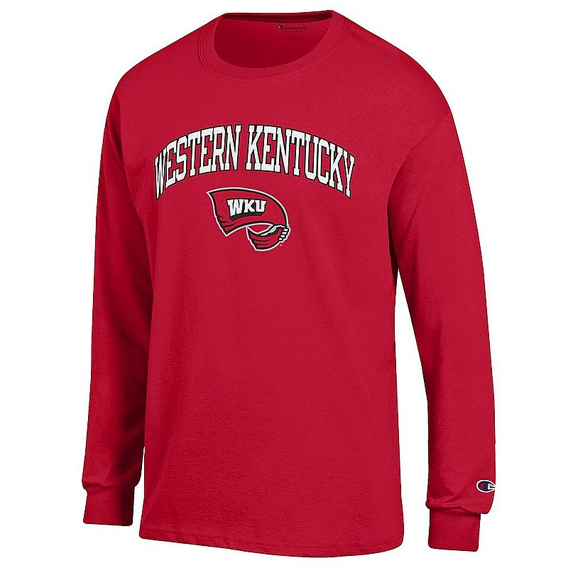 Western Kentucky Hilltoppers Long Sleeve TShirt Red APC03001090