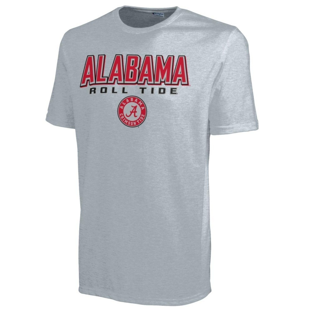 Alabama roll tide mens t shirt gray 4725198 apc02443038x for Alabama roll tide t shirts