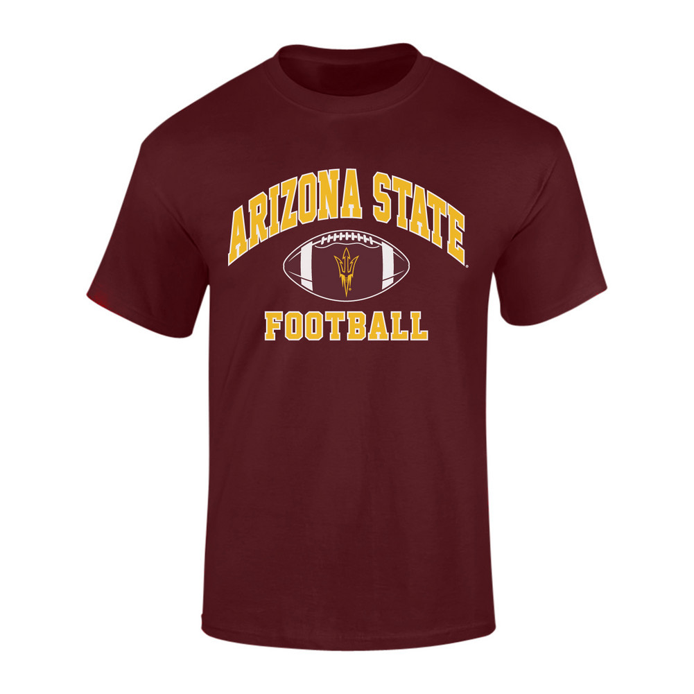 Arizona state sun devils tshirt maroon p0006426 Arizona state golf shirts