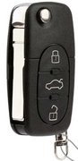 Audi New Audi 4D0 837 231 M 4D0837231M 231M Switchblade Keyless Remote Entry Clicker Control Transmitter Controller Keyfob Transponder Chip & New Flip Key New 279A3no (Audi  )