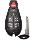 Chrysler Dodge Dodge 7 Button M3N5WY783X / IYZ-C01C FOBIK Car Starter Keyless Remote Entry Clicker w/ New Key Remanufactured CDJ A (Chrysler Dodge)
