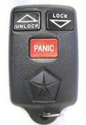 Chrysler Dodge Jeep Plymouth OEM Chrysler Dodge Jeep Plymouth FCC ID: GQ43VT7T Part # 04686366 Keyless Remote Entry Opener Pre-Owned 25B (Chrysler Dodge Jeep Plymouth)